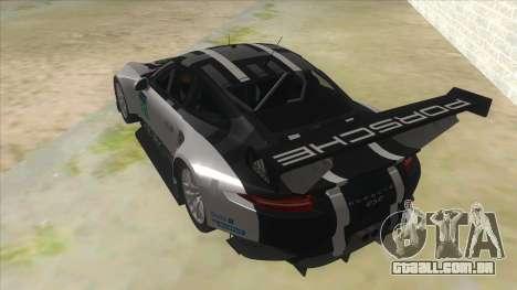 2016 Porsche 911 RSR para GTA San Andreas traseira esquerda vista