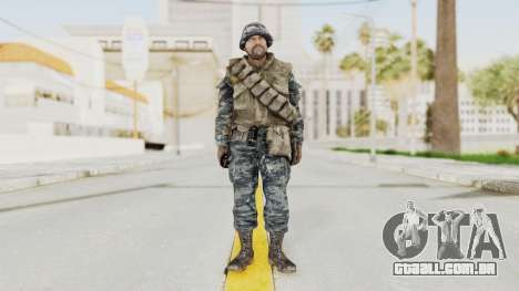 COD BO Russian Spetznas Flak MP v2 para GTA San Andreas segunda tela