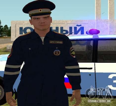 O sargento DPS para GTA San Andreas