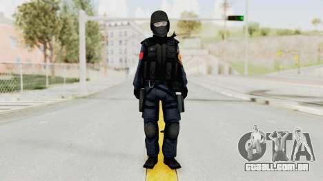 Albania Officer para GTA San Andreas segunda tela
