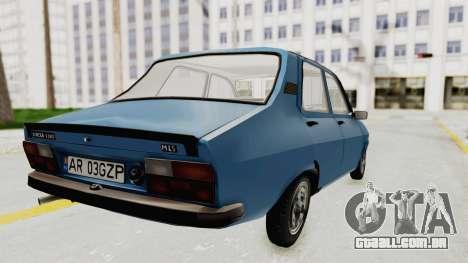 Dacia 1310 MLS 1988 Stock para GTA San Andreas esquerda vista