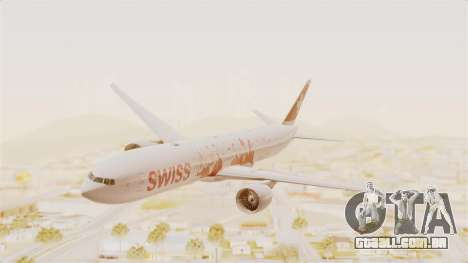 Boeing 777-300ER Faces of SWISS Livery para GTA San Andreas