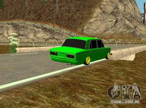 VAZ 2106 Shah para GTA San Andreas vista direita