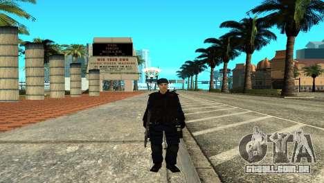 Police SWAT Skin for GTA San Andreas para GTA San Andreas