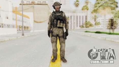 COD MW3 Delta Sandman Custom para GTA San Andreas segunda tela