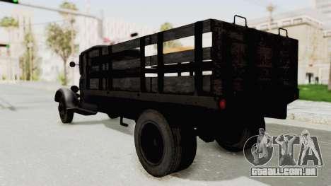 Ford AA from Mafia 2 para GTA San Andreas traseira esquerda vista