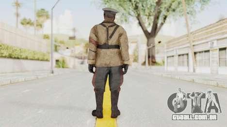 COD BO Richtofen para GTA San Andreas terceira tela