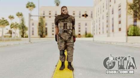 MGSV The Phantom Pain Venom Snake Scarf v9 para GTA San Andreas segunda tela