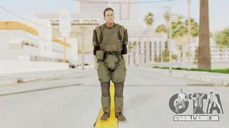 MGSV Ground Zeroes MSF Medic para GTA San Andreas segunda tela