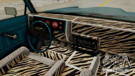 GTA 5 Dundreary Virgo Classic Custom v3 IVF para GTA San Andreas vista interior