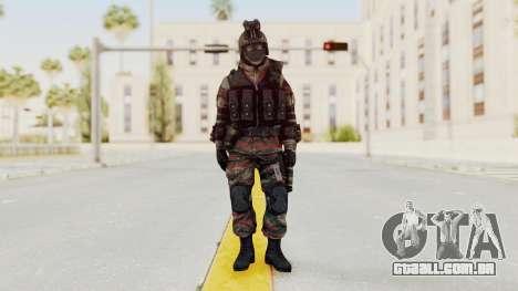 Battery Online Russian Soldier 5 v1 para GTA San Andreas segunda tela