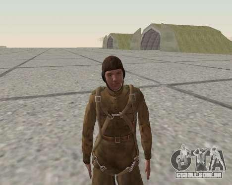 Pak combatentes do exército vermelho para GTA San Andreas nono tela