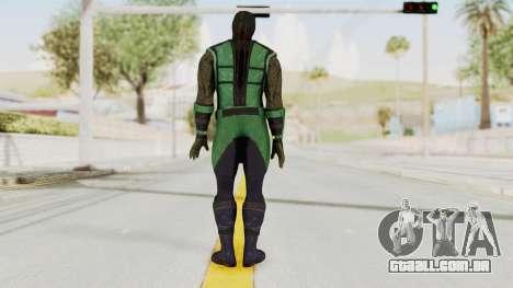Mortal Kombat X Klassic Reptile para GTA San Andreas terceira tela
