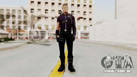 Captain America Civil War - Hawkeye para GTA San Andreas segunda tela