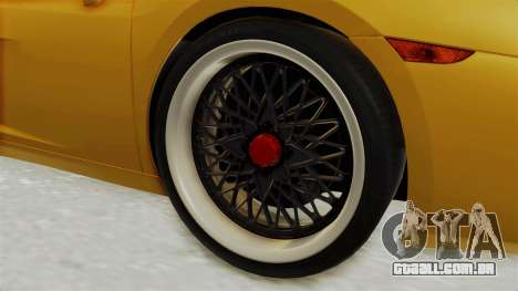 Lamborghini Gallardo 2005 para GTA San Andreas vista traseira