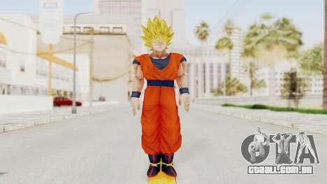 Dragon Ball Xenoverse Goku SSJ1 para GTA San Andreas segunda tela