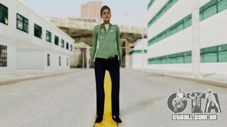 Female Medic Skin para GTA San Andreas segunda tela