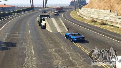 GTA 5 Simple Ramp Spawner With Speed Boost 0.3 quinta imagem de tela