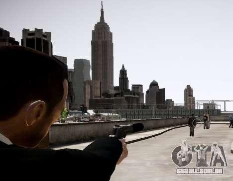 O silenciador de arma para GTA 4 segundo screenshot