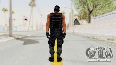 Rambo para GTA San Andreas terceira tela
