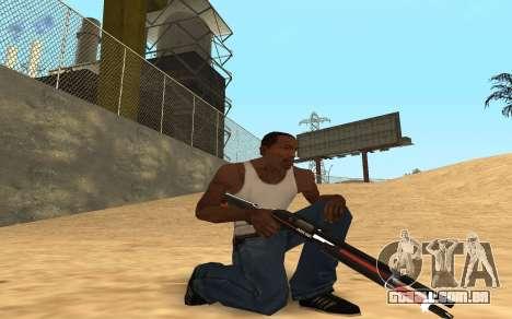 Shotgun Cyrex para GTA San Andreas por diante tela