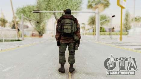 Battery Online Russian Soldier 8 v2 para GTA San Andreas terceira tela