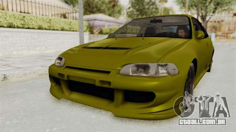 Honda Civic Fast and Furious para GTA San Andreas