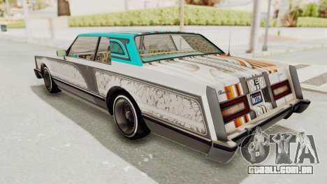 GTA 5 Dundreary Virgo Classic Custom v2 para GTA San Andreas interior