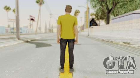 Skin from GTA 5 Online para GTA San Andreas terceira tela