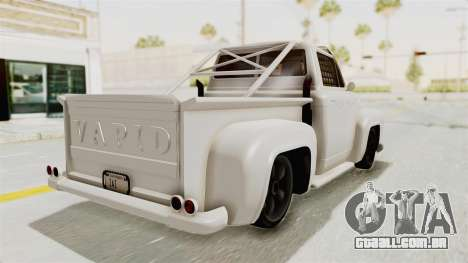 GTA 5 Slamvan Race para GTA San Andreas traseira esquerda vista