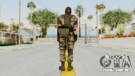 MGSV The Phantom Pain Venom Snake No Eyepatch v2 para GTA San Andreas terceira tela