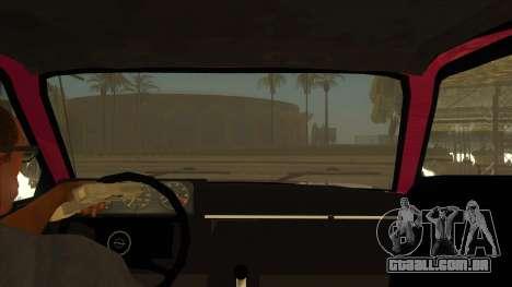 Opel Monza A1 para GTA San Andreas vista interior
