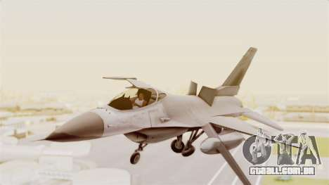 F-16 Fighting Falcon para GTA San Andreas