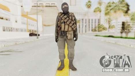 COD Black Ops Russian Spetznaz v1 para GTA San Andreas segunda tela