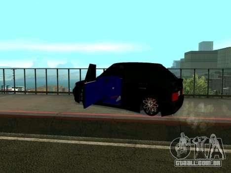 VAZ 2114 KBR para GTA San Andreas vista traseira