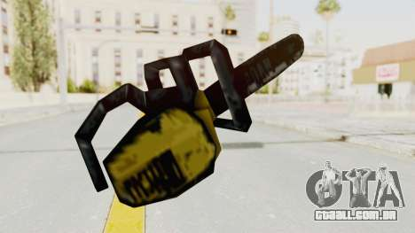 Liberty City Stories Chainsaw para GTA San Andreas terceira tela
