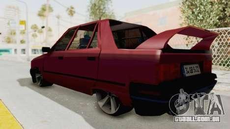 Renault Broadway para GTA San Andreas esquerda vista