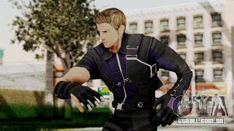 Captain America Civil War - Hawkeye para GTA San Andreas