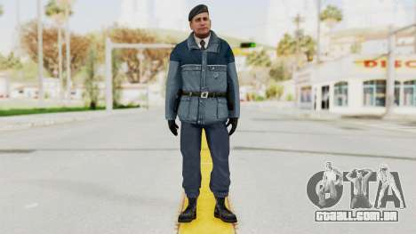 Bourne Conspirancy Zurich Police v2 para GTA San Andreas segunda tela