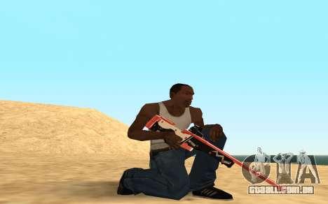 Rifle Cyrex para GTA San Andreas sexta tela
