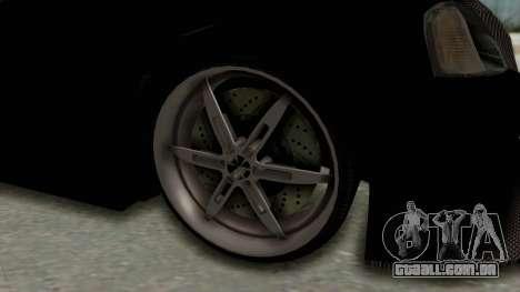 Dacia Logan Loco Tuning para GTA San Andreas vista traseira