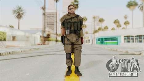 MGSV The Phantom Pain Venom Snake Scarf v1 para GTA San Andreas segunda tela
