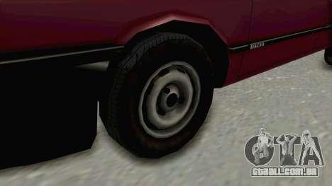 Dacia 1310L 1997 para GTA San Andreas vista traseira