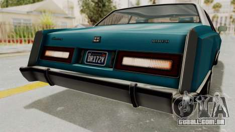 GTA 5 Dundreary Virgo Classic Custom v3 IVF para GTA San Andreas interior