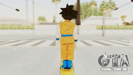 Dragon Ball Xenoverse Gohan Teen DBS SJ v2 para GTA San Andreas terceira tela