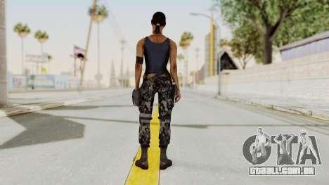 Mortal Kombat X Jacqui Briggs Boot Camp para GTA San Andreas terceira tela