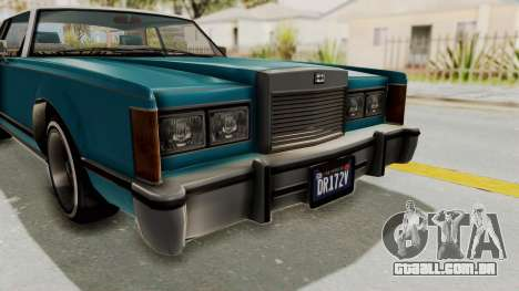 GTA 5 Dundreary Virgo Classic Custom v3 IVF para vista lateral GTA San Andreas