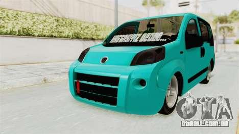 Fiat Fiorino v2 para GTA San Andreas vista direita