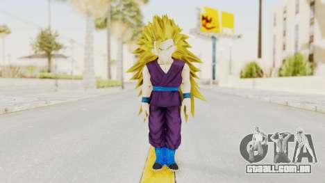 Dragon Ball Xenoverse Gohan Teen DBS SSJ3 v1 para GTA San Andreas segunda tela