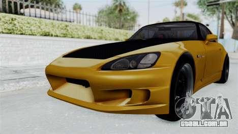 Honda S2000 S2K-AP1 para GTA San Andreas